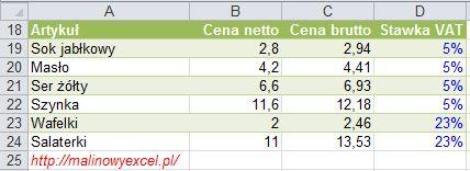 MalinowyExcel_Obliczanie_podatku_VAT6