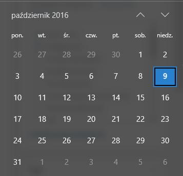 malinowyexcel-pierwszy-czwartek-miesiaca-kalendarz