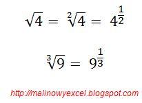 Jak zapisać pierwiastek - matematyka