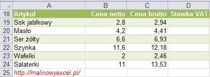 MalinowyExcel_Obliczanie_podatku_VAT5