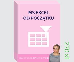 Kurs online MS Excel od początku