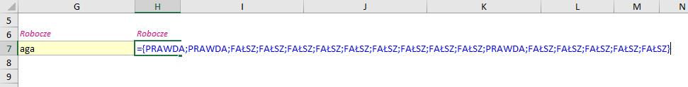 MalinowyExcel Przeszukiwalna lista rozwijana formułami 365 Wyniki funkcji CZY.LICZBA
